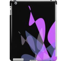 Purple & Black Graphic iPhone/iPod & iPad iPad Case/Skin