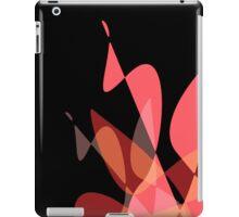Red & Black Graphic iPhone/iPod & iPad iPad Case/Skin
