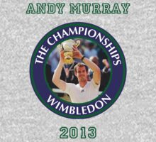 Andy Murray - Wimbledon Champion 2013 by Marjuned