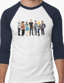 The Study Group Men's Baseball ¾ T-Shirt
