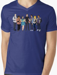 The Study Group Mens V-Neck T-Shirt