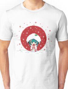 Snow Miku - Strawberry Kimono Unisex T-Shirt