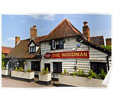 The Woodman Pub Poster