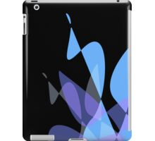 Blue & Black Graphic iPhone/iPod & iPad iPad Case/Skin