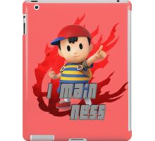 I MAIN NESS iPad Case/Skin