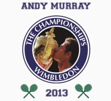 Andy Murray - Wimbledon Champion 2013 (v2) by Marjuned