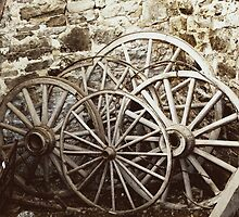 Wagon Wheels by RickDavis