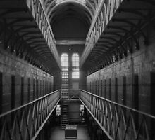 Old Melbourne Gaol by jacquelinekvz