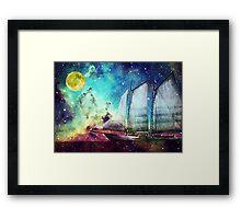 Galileo's Dream - Schooner Art By Sharon Cummings Framed Print
