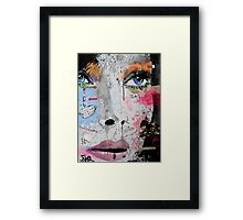 speaking to yourself Framed Print