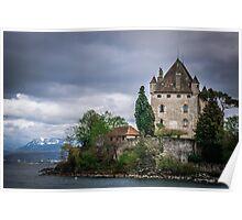 Yvoire Medieval Castle, France Poster