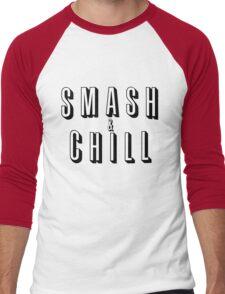 Smash & Chill Men's Baseball ¾ T-Shirt