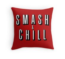 Smash & Chill Throw Pillow