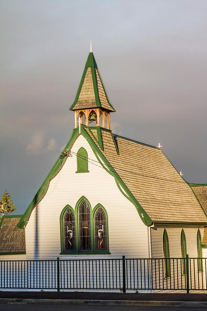 St. Stephen's Anglican Church, Penguin, Tasmania, Australia by Elaine Teague