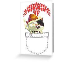Christmas Splatoon Judd Cat from Nintendo Greeting Card
