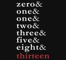 Fibonacci - Numbers Tee by BlueShift