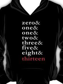 Fibonacci - Numbers Tee T-Shirt