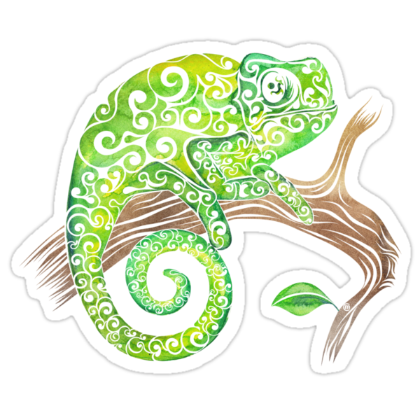 Chameleon by Vectorland