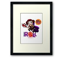 Project Reroll Posters and Prints Framed Print