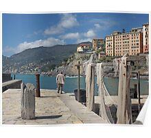 FISHING NETS... MARE LIGURIA - ITALIA - EUROPA -VETRINA RB EXPLORE 19 LUGLIO 2013 - Poster