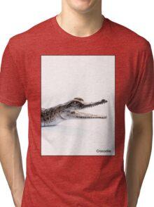 Crocodile Tri-blend T-Shirt