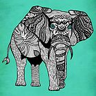 Tribal Elephant of Namibia by Pom Graphic Design