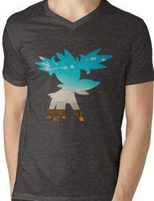 Shaymin (Sky forme) used tailwind Mens V-Neck T-Shirt