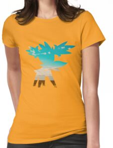 Shaymin (Sky forme) used tailwind Womens Fitted T-Shirt