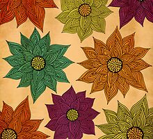 Color Me Floral by Pom Graphic Design