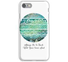 Tribal Evolution Series I iPhone Case/Skin