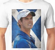 Andy Murray Scottish Flag Unisex T-Shirt