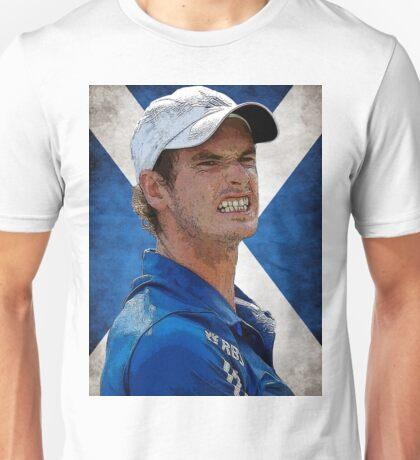 Andy Murray Scottish Flag Unisex T-Shirt