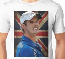 Andy Murray British Flag Unisex T-Shirt