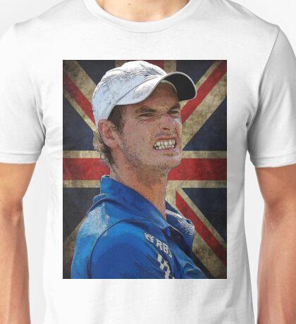 Andy Murray British Flag Unisex T-Shirt