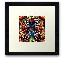 modern composition 13 by rafi talby Framed Print