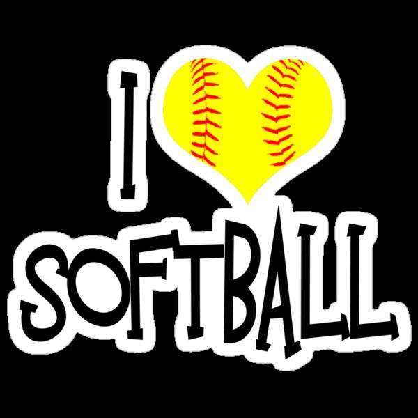 I love softball wallpapers