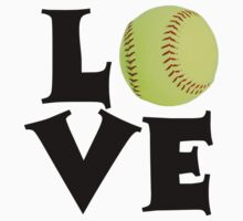 Love - Softball by shakeoutfitters