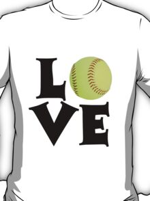 Love - Softball T-Shirt