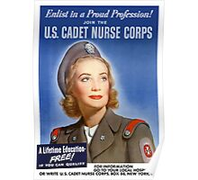 Join The U.S. Cadet Nurse Corps -- WW2 Poster