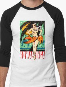Kowabunga! Men's Baseball ¾ T-Shirt