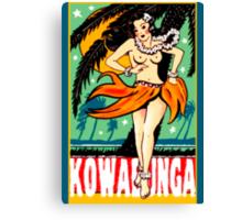 Kowabunga! Canvas Print