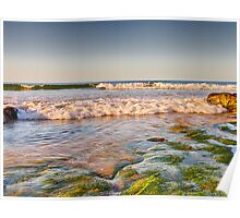 LOSSIEMOUTH - COVESEA WAVES Poster