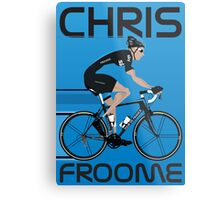 Chris Froome Metal Print