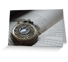 Pocket Watch Four Greeting Card