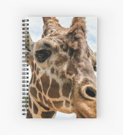 Giraffe Love ~  Spiral Notebook