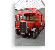 AEC Regent 1 Breakdown Tender Canvas Print