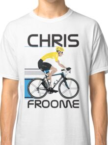 Chris Froome Yellow Jersey Classic T-Shirt