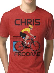 Chris Froome Yellow Jersey Tri-blend T-Shirt