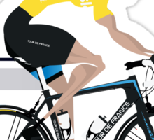 Chris Froome Yellow Jersey Sticker