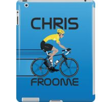 Chris Froome Yellow Jersey iPad Case/Skin